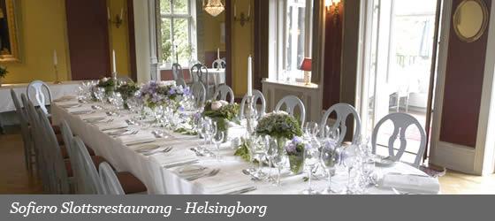 Sofiero Slottsrestaurang - Helsingborg
